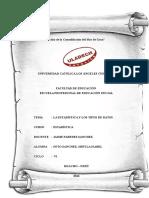 Monografia Proceso de Habeas Corpus, Habeas Data y de Amparo Apa