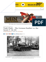 Tank Clash – the German Panther vs. the Soviet T-34-85
