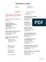 2016 psych directory kcmetro