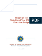 Review of Executive Budget 2017