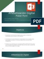 Alfabetización Digital Como Crear Un Power Point