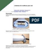 Modificación de Antenas de Coníferas Para Red Inalámbrica Parte 3