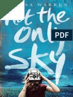 Not the Only Sky, Alyssa Warren – Free Sample