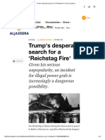 Trump's Desperate Search for a 'Reichstag Fire' _ USA _ Al Jazeera