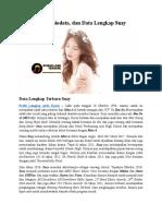 Profil, Biodata, Dan Data Lengkap Suzy