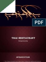 Thai Restaraunt