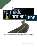 Claudio Roberto Ribeiro Junior Formador de Formadores