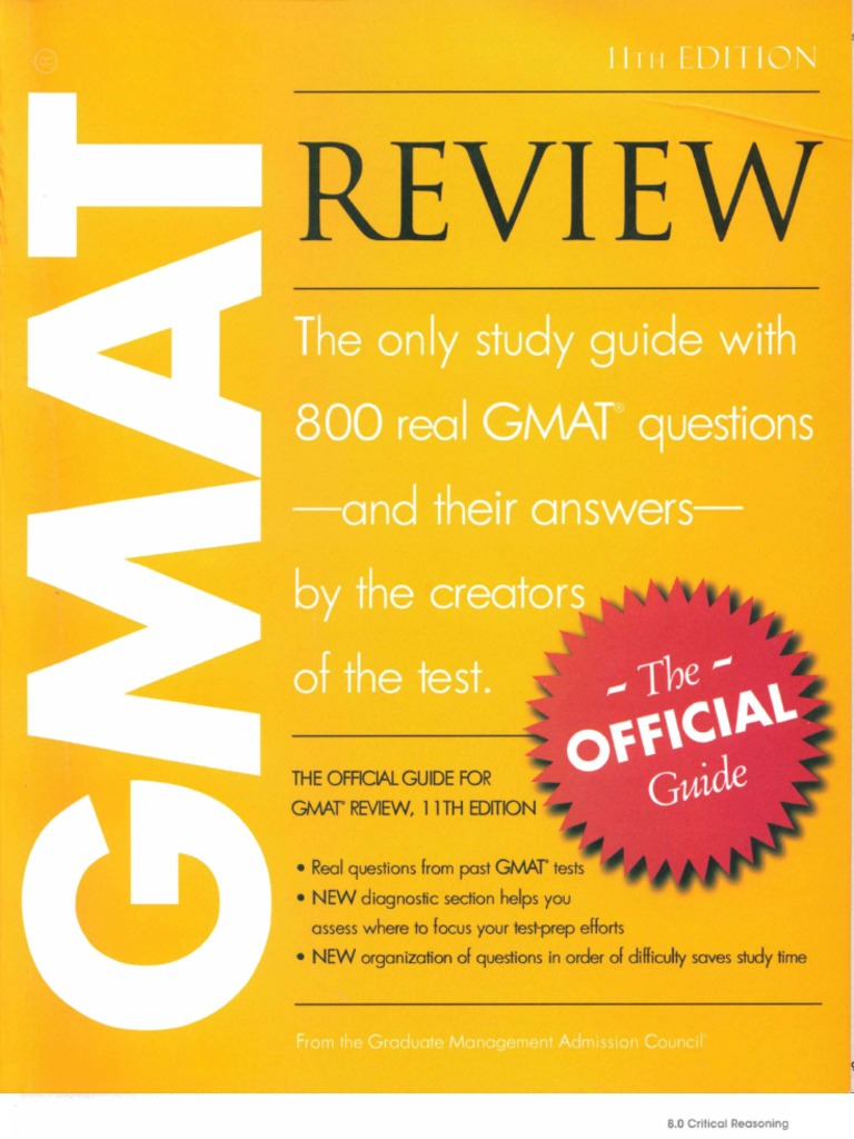 The Official Guide For Gmat Verbal Review 2nd Edition Ebook