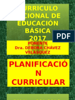Currículo Nacional 2017