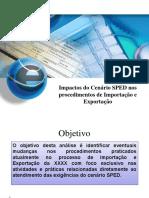 SPED Processo Importação Exportação