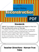 reconstruction clzed notes c