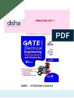 GATE Electrical Engineering Practice Set