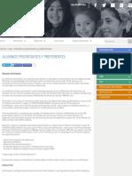 ALUMNOS PRIORITARIOS Y PREFERENTES - Subvención Escolar Preferencial (SEP)