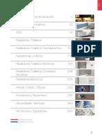 Tarifa Irsap 2015 Indice. Panorama de Producto
