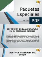 Paquetes Especiales (Clase1)