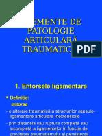 1.Elemente de Patologie Traumatica Articularaentorseluxatii