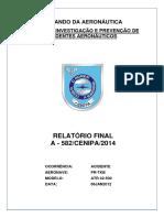 Rf a 582cenipa2014 Pr Tkb