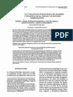Maltrato Físico y Maltrato Psicológico en Mujeres Víctimas de Violencia en El Hogar-Un Estudio Comparativo