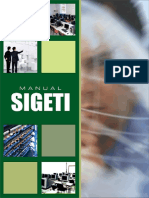 SIGETI - Manual de Vistoria