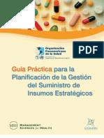 Guia Practica para la Planificacion de la Gestion Suministros Insumos Estratégicos