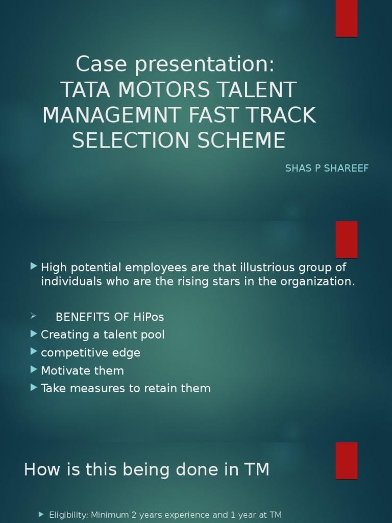 presentation tata motors