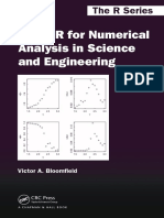 [Victor a. Bloomfield] Using R for numerical analysis