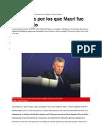 El Escándalo Por La Quita de La Deuda Del Correo Al Grupo Macri