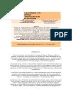 Caracterización Psicológica y de Somatotipo