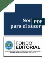 Normas Para El Autor