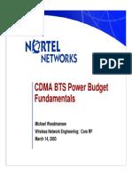 CDMA BTS Power Budget.pdf