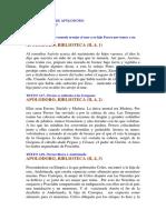 Los Mitos Griegos por Apolodoro Trad. a16-A30