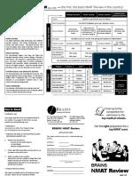 NMAT Review Brochure 2015