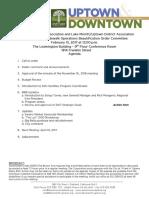 SOBO February 15, 2017 Agenda Packet