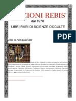 Libri Di Antiquariato - Edizioni Rebis