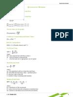 Quantitative Aptitude Formulae Sheet