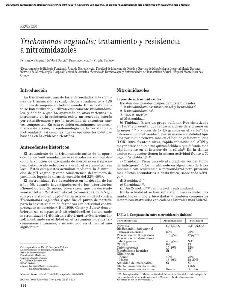 Trichomonas és kenet