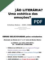 Educação Literária Uma Estética Das Emoções Portugal