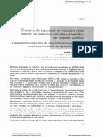 El Ensayo de Expansión en Autoclave Como Método de Determinación de Lo Estabilidad Del Cemento Portland...