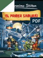 el primer samurai - Geronimo Stilton