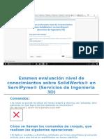 Preguntas Solidworks Basics