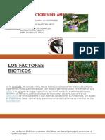 El Ambiente y Factores Del Ambiente