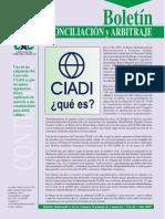 Ciadi. Qué Es (Boletín Cncb)