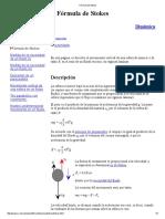 Fórmula de Stokes