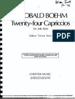 Boehm,T.24 Caprichos Op26