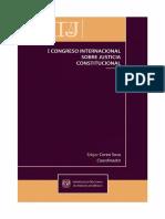 20. 1er Congreso Sobre Justicia Constitucional - Corzo Sosa, Edgar Coordinador