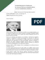 Biografía Simon Kuznets
