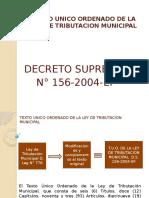 Texto Unico Ordenado de La Ley de Tributacion8(Final) Diapo