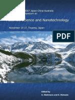 K. Nishimura, K. Matsuda-Proceedings of 2007 Japan-China-Australia Cooperative Symposium on Materials Science and Nanotechnology-University of Toyama (2007)