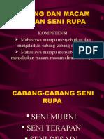 CABANG DAN MACAM ALIRAN SENI RUPA.ppt