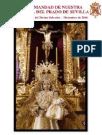 Anuario del año 2016 de la Hermandad de Nuestra Señora del Prado de Sevilla